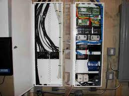 advanced home controls whole house structured wiring rh advancedalarmsllc com structured wiring panel cover structured wiring panel has purple wires